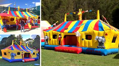CIRCUS FUN - JUMPING CASTLE - 7m x 5m
