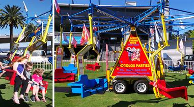 FUN DIXIE SWING RIDE - 30 Kids or 20 Adults
