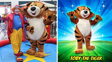 TOBY The TIGER - Mascot Character